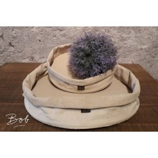 Bob Tray rubber/jute old Rose 40 cm
