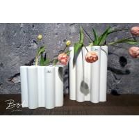 Bob Multi Barral Vase L Matt White