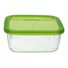 Keep N Box - bewaarbox glas 1170ml - 1170 ml vierkant