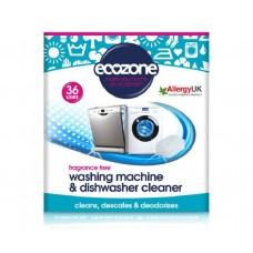 Wasmachine en vaatwasser cleaner - 36 stuks