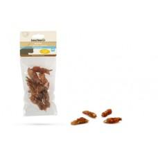 Gedroogde Visjes met Kip - Kattensnack - 70 gram
