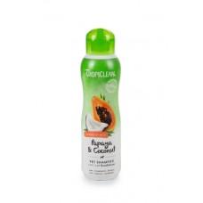 TropiClean Papaya Coconut Shampoo+Conditioner - 355 ml
