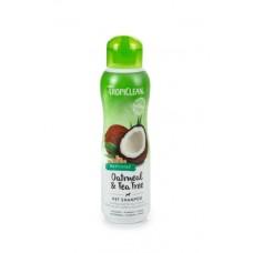 TropiClean Oatmeal Tea Tree Shampoo - Hondenshampoo - 355 ml