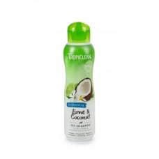 TropiClean Lime Coconut Shampoo - Hondenshampoo - 355 ml