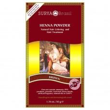 Henna Haarverf Powder Brown 50g