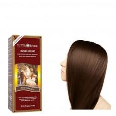 Henna Haarverf Cream Light Brown 70ml