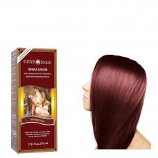 Henna Haarverf Cream Mahogany 70ml