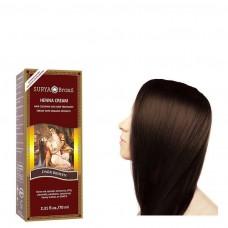 Henna Haarverf Cream Dark Brown 70ml