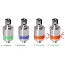LED shower indicator - timer met licht