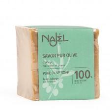 Najel Aleppo zeep Pure olijfolie 200 gram doos 12 stuks
