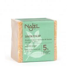 Najel Aleppo zeep 5% BLO 200 gram doos 12 stuks