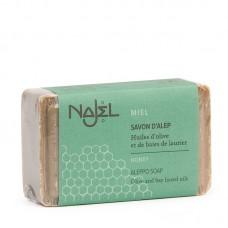 Najel Aleppo zeep rond Honing 100 gram doos 20 stuks