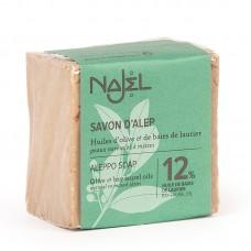 Najel Aleppo zeep 12% BLO doos 12 x 170 gram