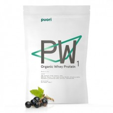 Puori Wheyproteine Poeder Zwarte bes doos 6 stuks