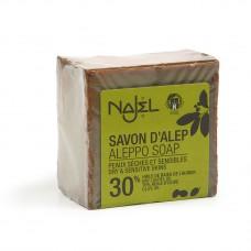 Najel Aleppo zeep 30% BLO 200 gram doos 12 stuks