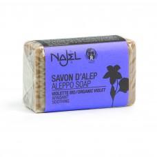 Najel Aleppo zeep blok Violet 100 gram doos 20 stuks