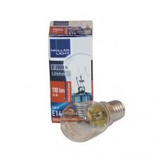 Gloeilampje 15 watt E14 max. 230 Volt voor zoutlamp